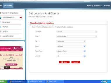 Team Management Site