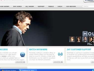 Video Streaming Site