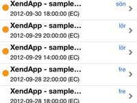 XendApp iOS Applicatio