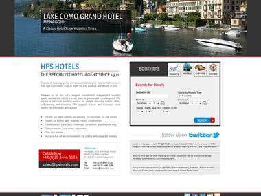 HPS Hotels Web Site