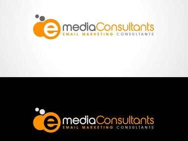 E Media Consultants - Logo Design