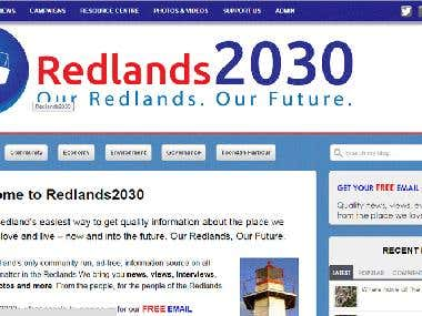 Redland Wordpress Blog
