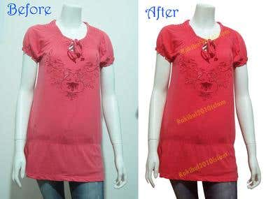 Image retouching & Color Correction