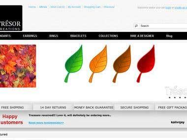 online customizable jewellery store.