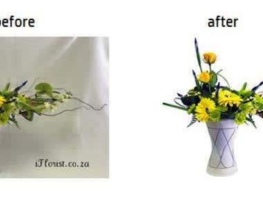 Flowers image enhancements