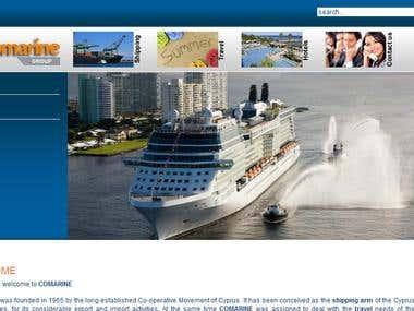 Comarine Shipping International.