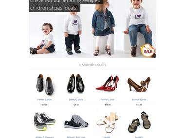 LCS Just Shoes Pro: Prestashop Theme Design