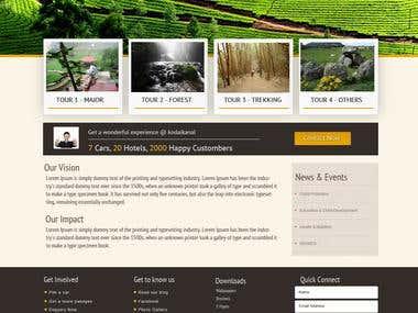 Wordpress site for kodai cars