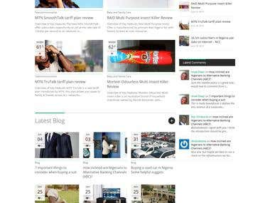 Wordpress CMS website setup and design