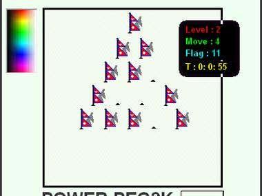 PowerPeg Game