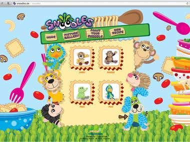 Website for Kids Products