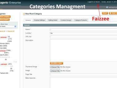 Creating Product Category and Managment (53,000 Products)