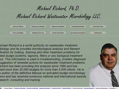 Michael Richard Wastewater Microbiology