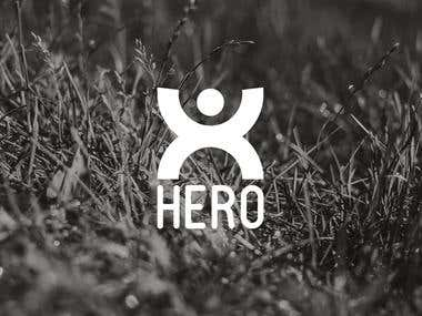 Hero logo design