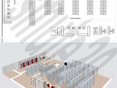 2D floor plans to 3d