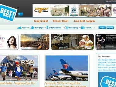 development of daily deals website