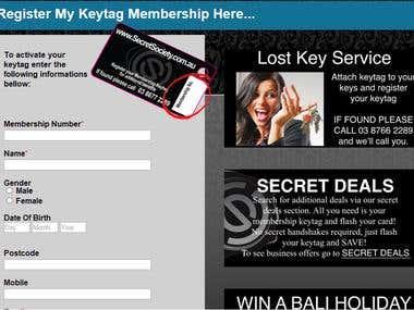 HTML Web Site