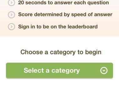 The Trivia App