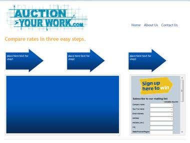 Auctionyourwork.com