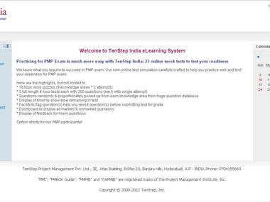 MOODLE - elearning platform developed on Moodle for TenStep