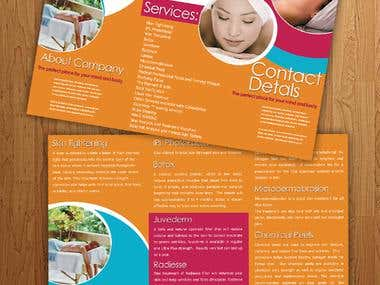 Brochure designed