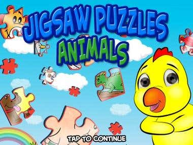 Jigsaw Puzzles : Animals