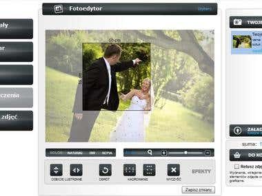 Flex Photo editor