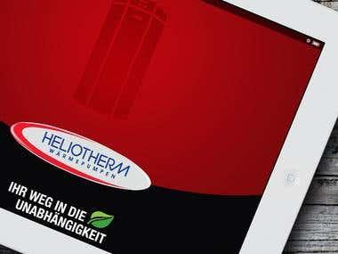 HelioTherm Ipad App