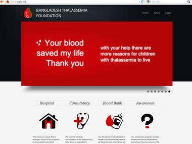 Bangladesh Thalassemia Foundation Web Portal