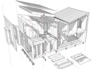 Structural and Architectural designing