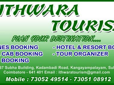 Ithwara tourism Pvt ltd