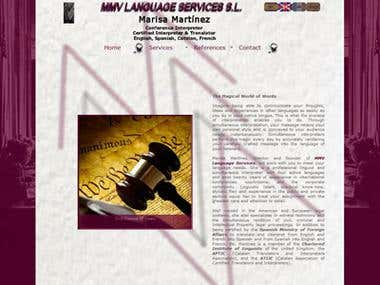 Professional Translator Website