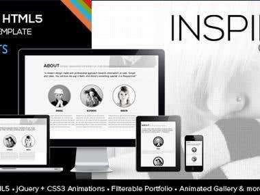 INSPIRA - Premium Responsive HTML5 Theme