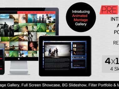 PREFACE - HTML5 Interactive Responsive Portfolio Premium