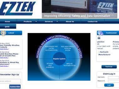 EZTEK website
