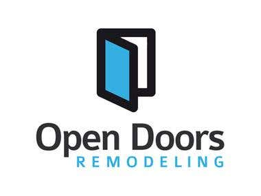 Logo + Web Design - Open Doors