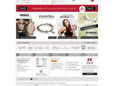 Top brand based on Magento Enterprise