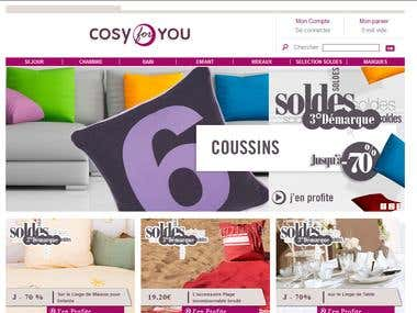 Cosy for You is an online Furniture store in Opencart