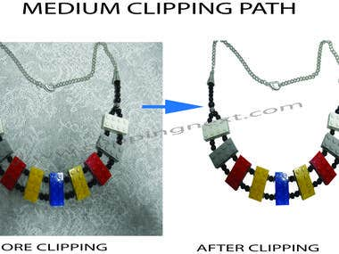 Medium Clipping Path
