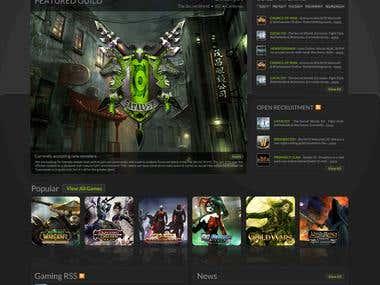 Guild Connections - Website Design