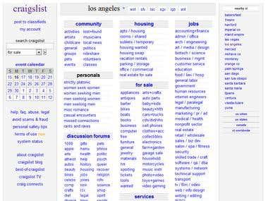 Craigslist Expertise