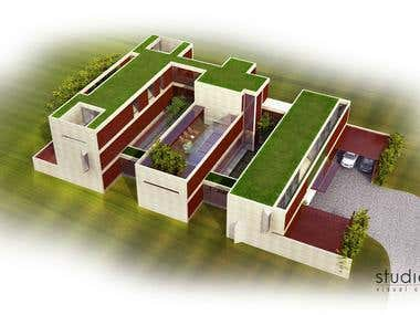 Masterplan and House Design B