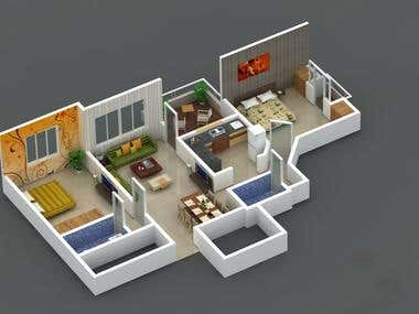 2bhk-apartment-evergreen-homes