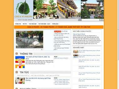 Website of Vi Phuoc Temple !