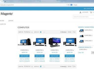 Magento Online Shope