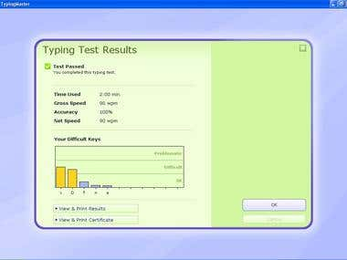Touch Typing Speed