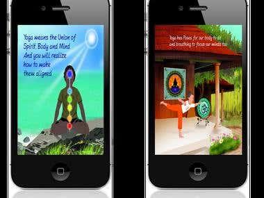 Yogi Shanti | Iphone App