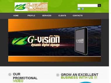 G-vision (Dynamic Digital Signage)