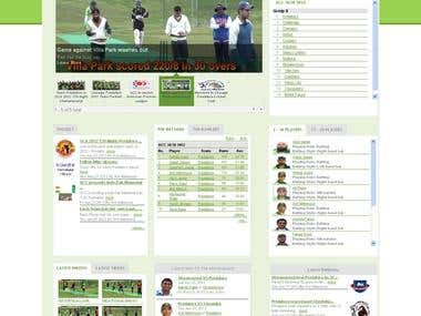 Top sports website of america(cricket)