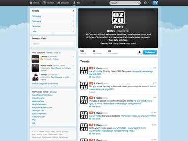OZZU Twitter Profile
